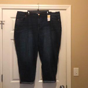Jeans boyfriend cropped